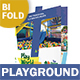 Kids' Playground Bifold / Halffold Brochure - GraphicRiver Item for Sale