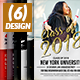 Graduation Invitation Cards Bundle - GraphicRiver Item for Sale