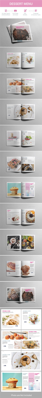 Dessert Menu - Food Menus Print Templates