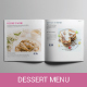 Dessert Menu - GraphicRiver Item for Sale