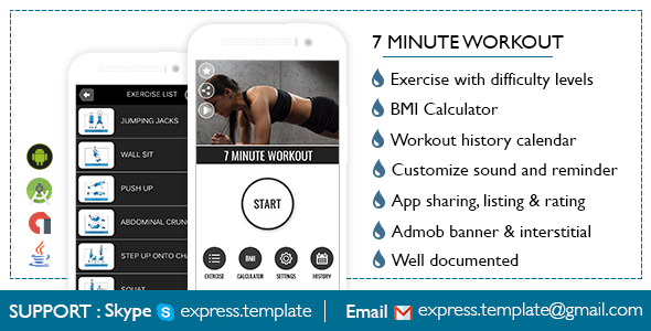 7 Minute Workout for Android
