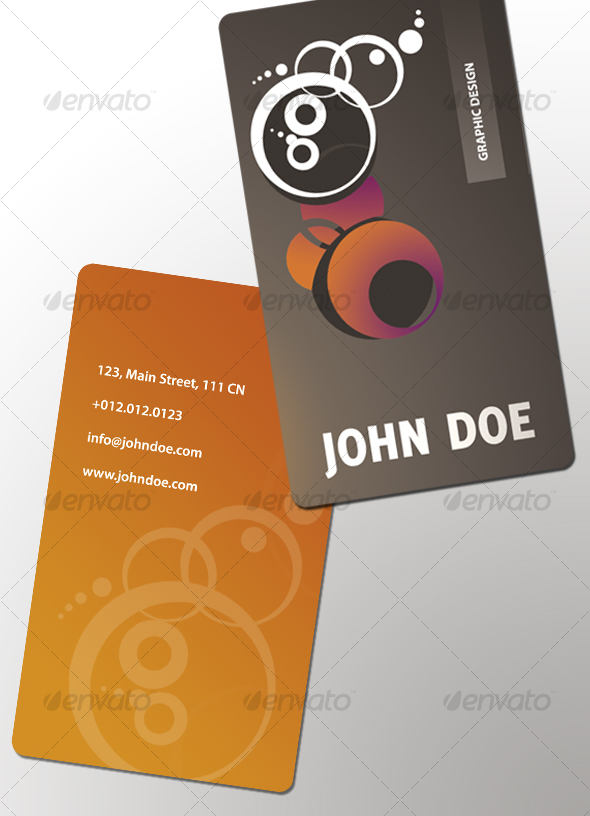 GRAPHIC business card - Creative Business Cards