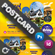 Travel Tours Postcard Templates - GraphicRiver Item for Sale
