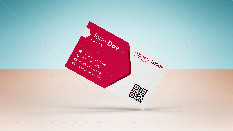 Business card mockup single sided horizontal by graphicdesigno single business card mockup 04 viewg colourmoves