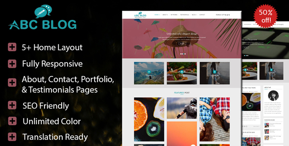 Abcblog - WordPress Blog and Magazine Theme