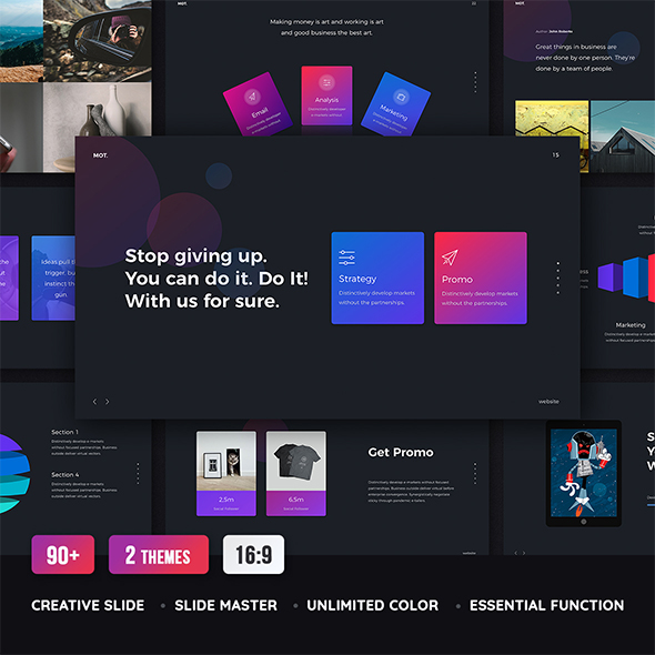MOT - Creative & Multipurpose Template (Keynote) - Creative Keynote Templates