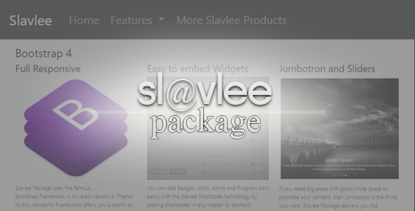 Slavlee Package - CodeCanyon Item for Sale