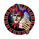 The Logo for the Casino with the Face of Joker