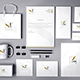 Realistic Branding - Stationery - Corporate ID Mockups Set1