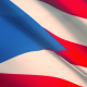 Puerto Rico Flag on the Clouds - VideoHive Item for Sale