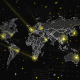 World Map Global Connections HD - VideoHive Item for Sale