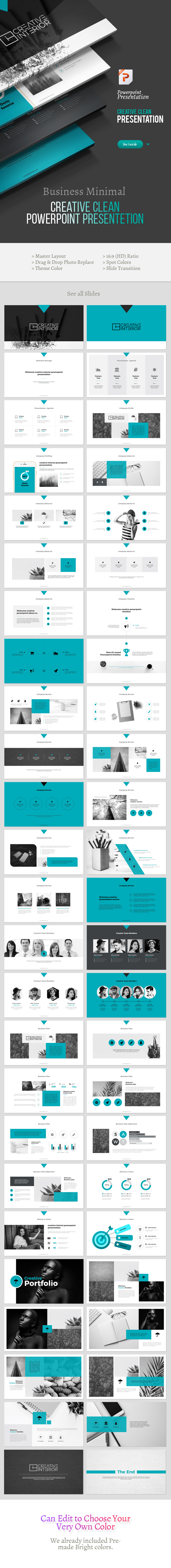 Creative Multipurpose Powerpoint Template - Creative PowerPoint Templates