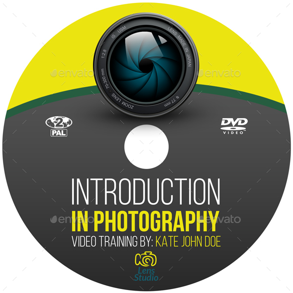 photography training course dvd template by owpictures graphicriver
