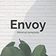 Envoy Minimal Google Slide Template - GraphicRiver Item for Sale