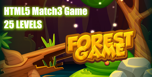 The Forest HTML5 Game [ 25 levels ] - CodeCanyon Item for Sale