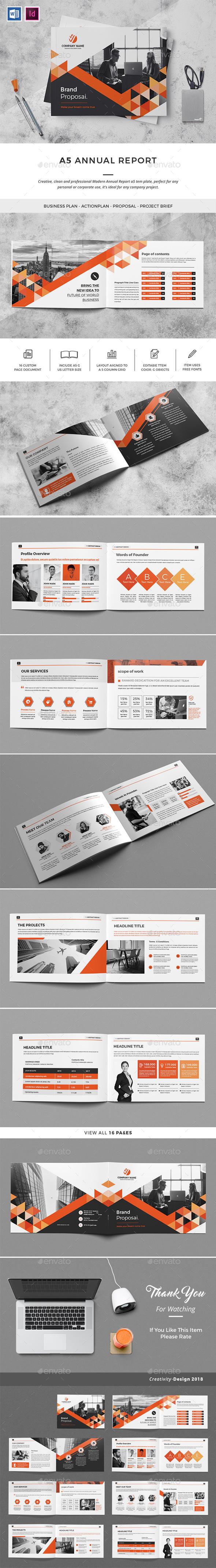 A5 Brochure Creative - Corporate Brochures