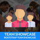 Team Showcase - Pure CSS Team Member Showcase
