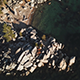Looking Down at Clear Water Rocky Beach - VideoHive Item for Sale