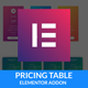 Pricing Plan - Elementor Page Builder Addon - For WordPress