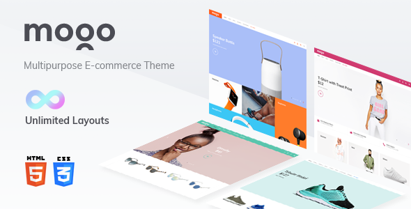 Image of MOGO eCommerce HTML template, electronics store