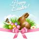 Spring Easter Background - GraphicRiver Item for Sale