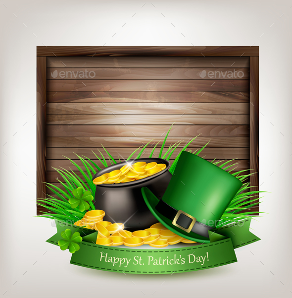 St. Patricks Day Background - Miscellaneous Seasons/Holidays