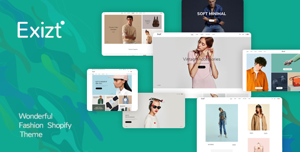 Exist – Drag & Drop  Responsive Shopify Theme