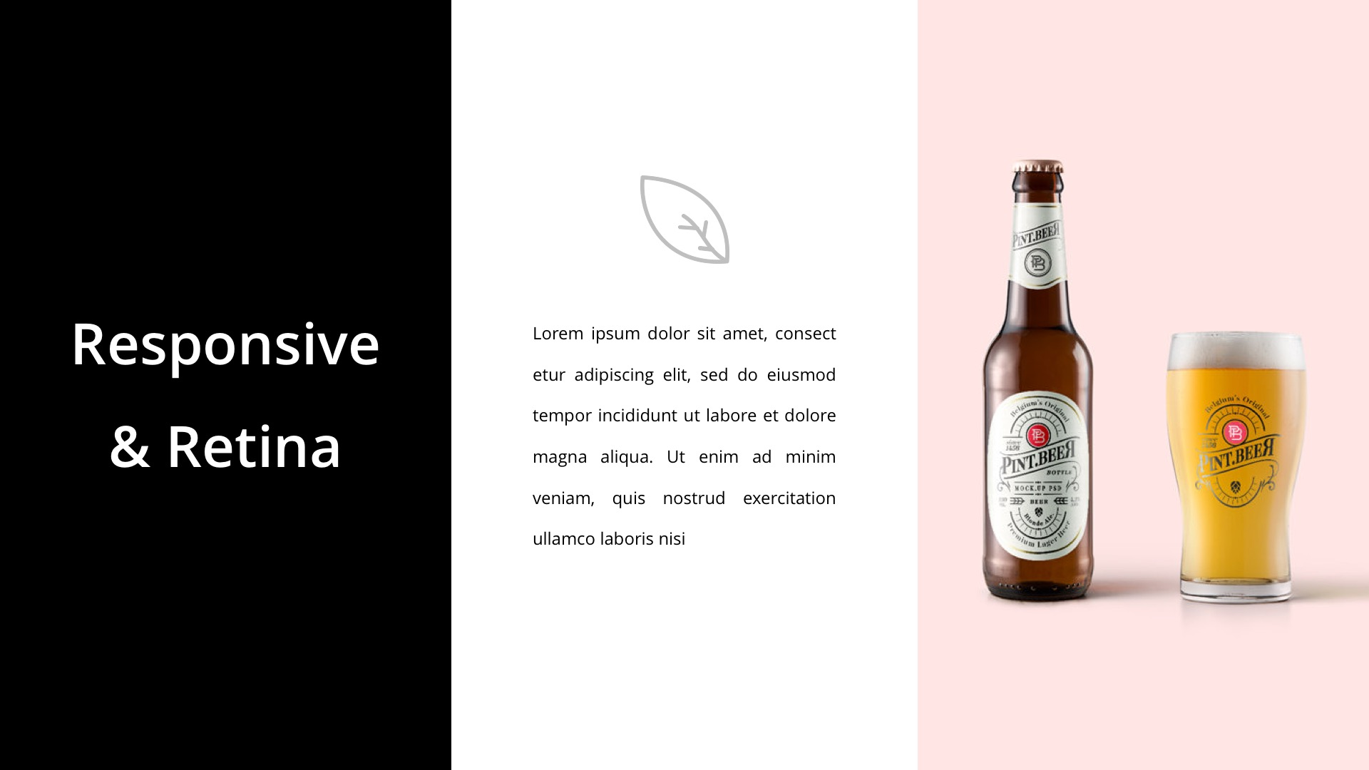 amazing alcohol powerpoint template illustration example