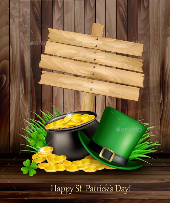 St. Patricks Day Background - Miscellaneous Seasons/Holidays