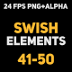 Liquid Elements Swishes 41-50 - VideoHive Item for Sale