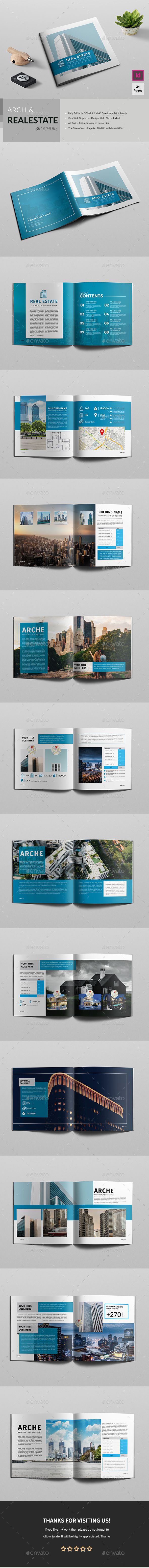 Square Realestate/Architecture Brochure - Corporate Brochures