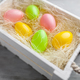 Easter holiday basket full of eggs - PhotoDune Item for Sale