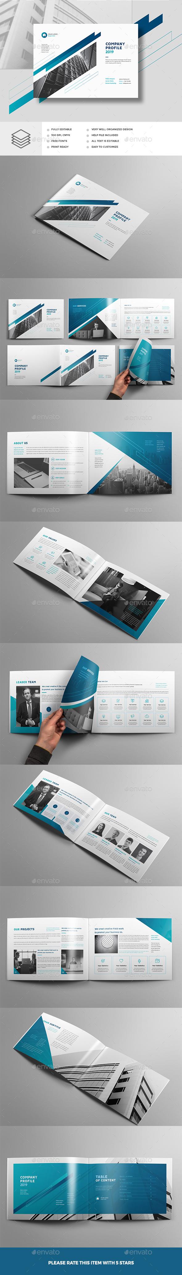 Company Profile Landscape A4 & A5 - Corporate Brochures