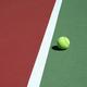 Tennis ball near net - PhotoDune Item for Sale