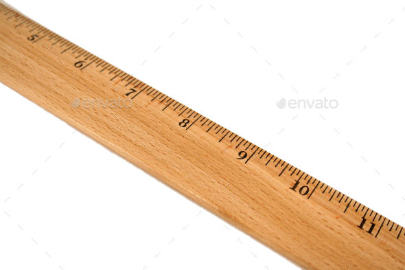 Wooden Ruler - Stock Photo - Images