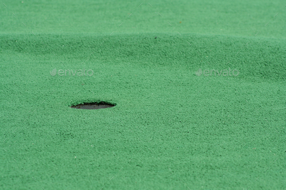 Miniture Golf hole - Stock Photo - Images
