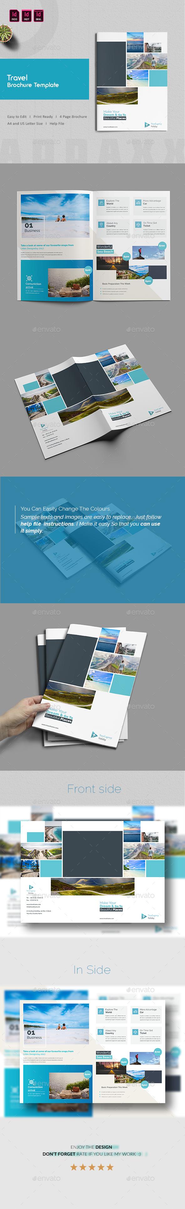Travel Brochure Template - Corporate Brochures