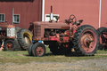 Old red tractors - PhotoDune Item for Sale