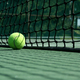 Tennis ball near net - PhotoDune Item for Sale
