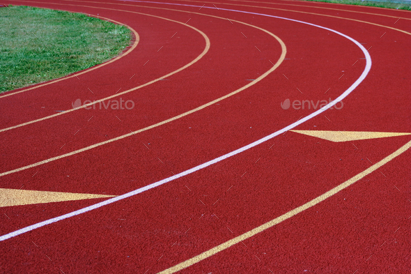 Running track - Stock Photo - Images