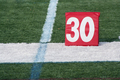 Football thirty yard marker - PhotoDune Item for Sale