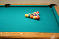 Racked 8 ball game - PhotoDune Item for Sale