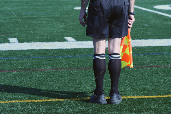 Soccer Official - Stock Photo - Images