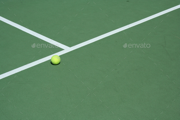 Tennis Ball - Stock Photo - Images