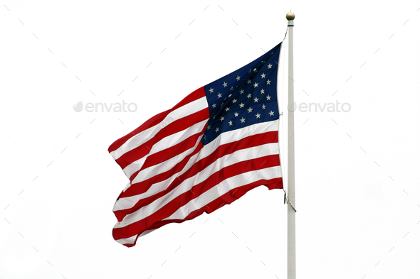 American Flag - Stock Photo - Images