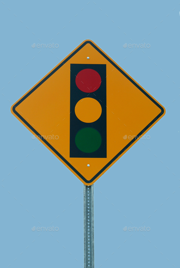 Traffic light sign - Stock Photo - Images