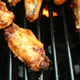 Chicken Wings Cooking on the grill - PhotoDune Item for Sale