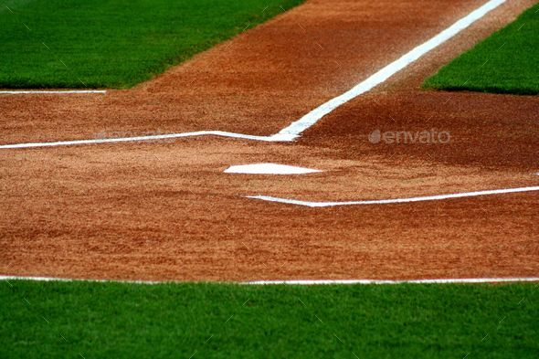 Home Plate - Stock Photo - Images