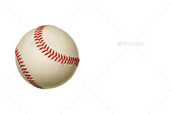 Baseball Isolated - Stock Photo - Images