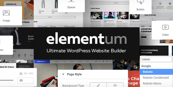 Elementum - MultiPurpose High-Perfomance WP Theme